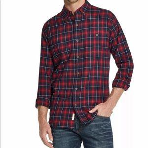 Weatherproof Vintage Button Up Shirt Mens Large